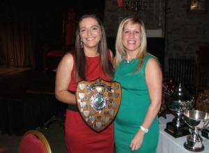 Mairead Graham Receive Senior POTY from Siobhan Grant