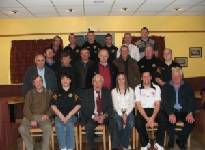 Special Guests Jane Adams & Sean Cavanagh with some club members
