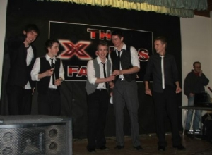Eoin Quigg - Adrian McKeever with Boyzone, Harry & Niall McKeever, Francis Cassidy & Ciaran McKenna