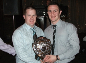 John Kearney receives Senior POTY from Michael McCann