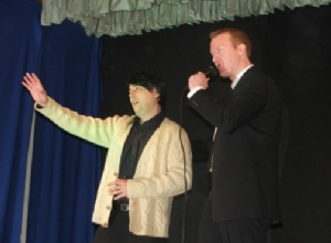 Winner Daniel O'Donnell - Michael McCann with Tony Convery