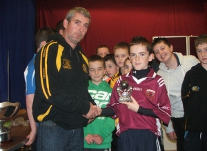 U12 Player of the Year Michael Hagan