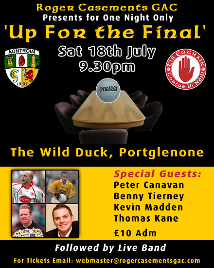 Up For the Final - Roger Casements GAC Portglenone